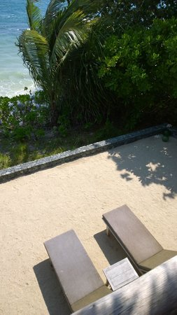 Nikoi Island: View from the room