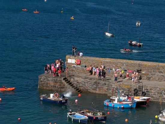 Coast Path Cafe: The quay, Gorran Haven, Cornwall