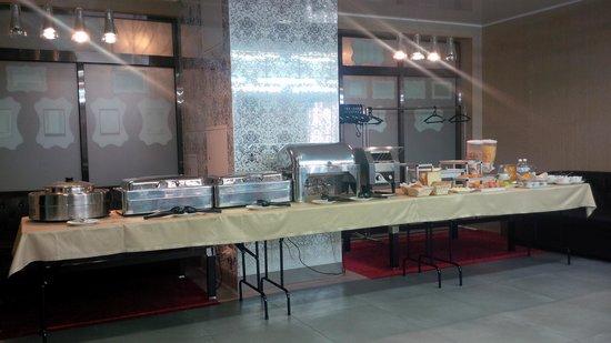 Boutique-Hotel Khabarovsk City: Buffet Breakfast