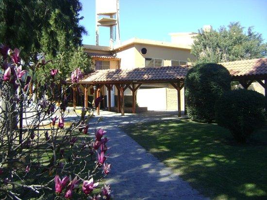 Hotel Flamingo: camino´para las habitaciones