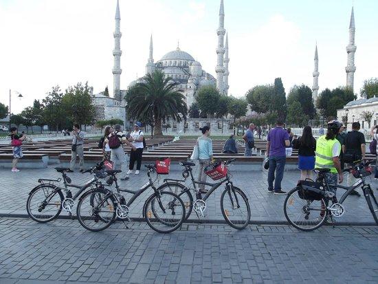 The Biker Istanbul: HISTORIC PENINSULA&GOLDEN HORN BY BIKE&TELEFERIC&BOAT