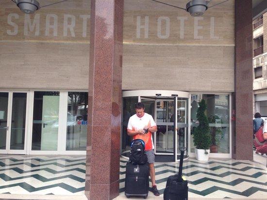 سمارت هوتل: It was sad to leave this great hotel!