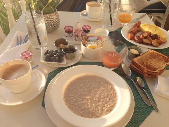 North Ocean Grill: Breakfast