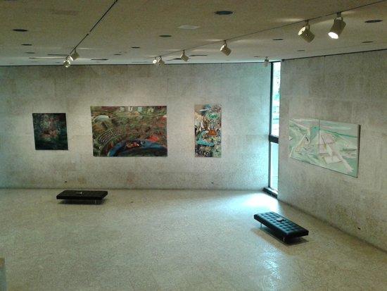 Main entrance space of the Winnipeg Art Gallery