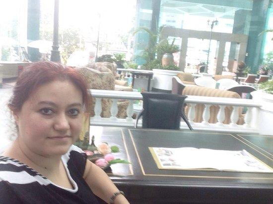 Windsor Suites Hotel Bangkok: Good bye and thank you.