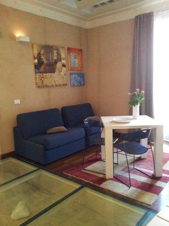 Residence La Gancia: The livingroom
