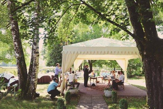 Vila Podvin: The wedding ceremony