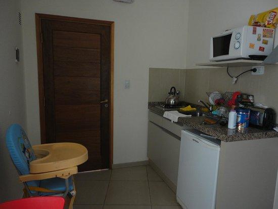 Altos del Champaquí Apart y Spa: Cocinita