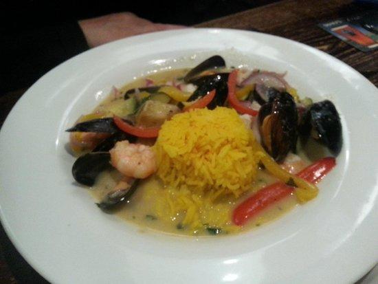 The Sloop Inn: Thai Green Seafood Curry