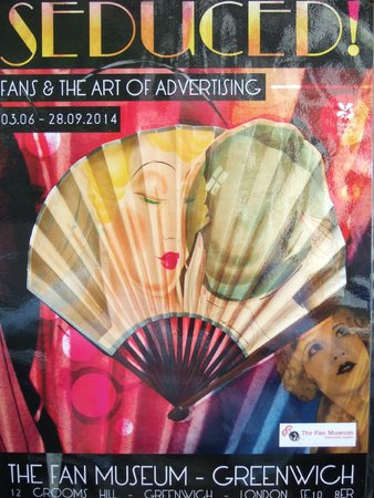 The Fan Museum: One of the ever-changing exhibitions