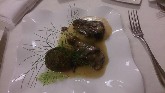 Restaurant L'Orangerie : Fricassée de volaille