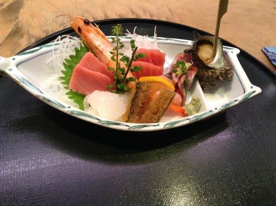 Tobuki Sushichu: Part of Dinner course menu