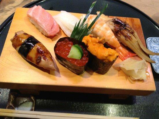 Tobuki Sushichu: All remarkably fresh and flavorful - especially the O-toro tuna