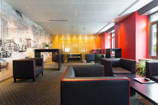 بست ويسترن هوتل يوروهوتل وورتمان: Lounge mit Fumoir