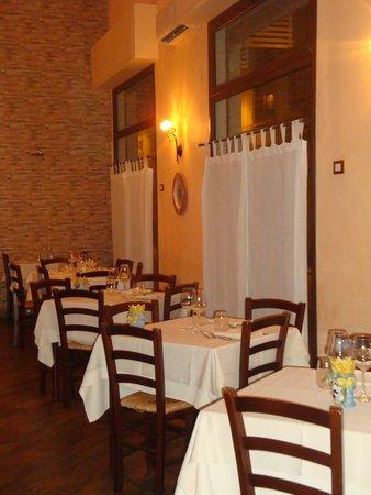 Caupona Taverna di Sicilia: Restaurant interior