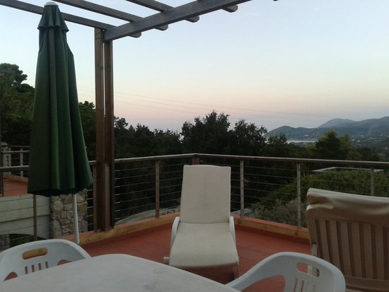 AllegroItalia Golf Elba: Terrazzo al tramonto
