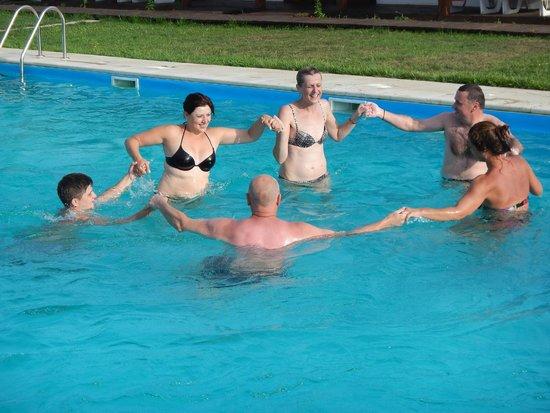 Danube Delta Resort: Pool Atmosphere