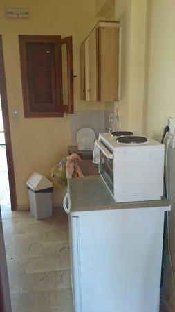 Hotel Olga: Kitchen