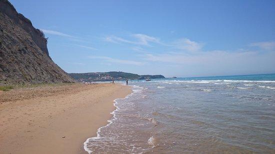 Hotel Olga: The lovely beach