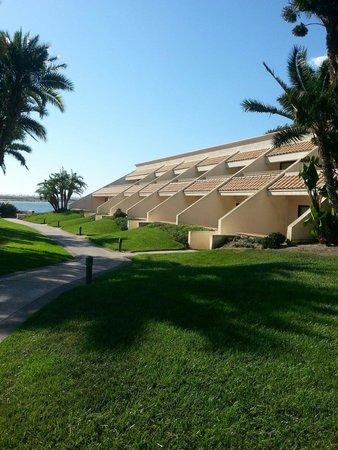 هيلتون سان دييغو ريزورت أند سبا: Hotel Palacio with lovely views from Floor2