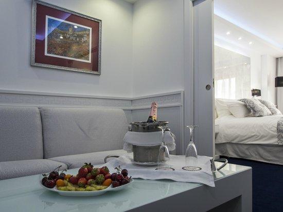 Hotel Spa Diana Parc: Suite Imperiale