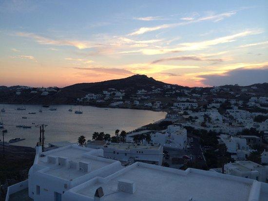 Deliades Hotel : Beach view from room balcony