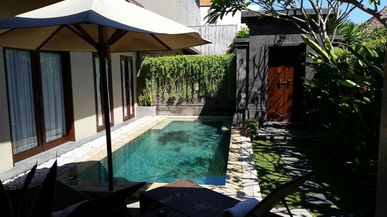 Nyuh Bali Villas: View from the gazebo
