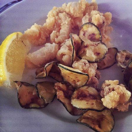 Hotel Madison: Frittura di pesce!