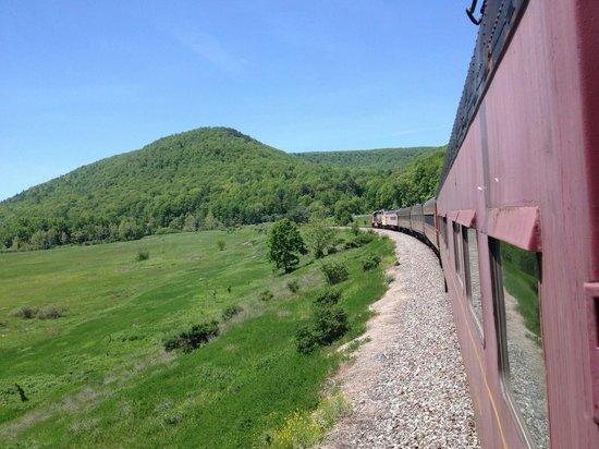 Tioga Central Railroad: Great Tioga county views