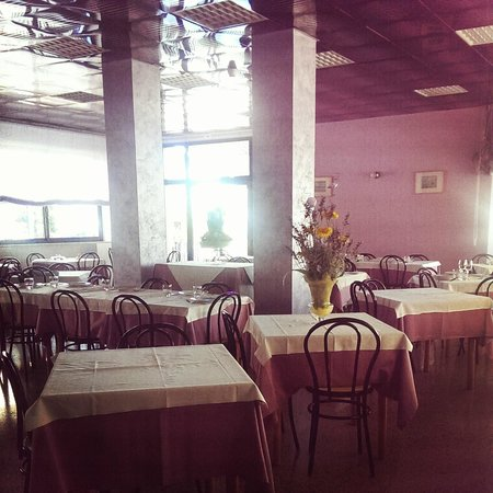 Hotel Madison: La sala da pranzo