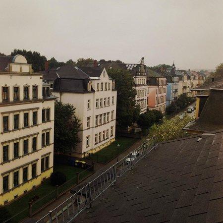 Hotel Kurfurst Dresden: Vista dalla terrazza