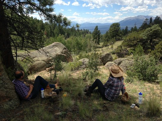Elk Mountain Ranch: One of the lunchtime picnic spots