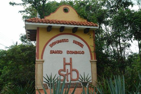 Hacienda Hotel Santo Domingo: Entrée de l'hotel