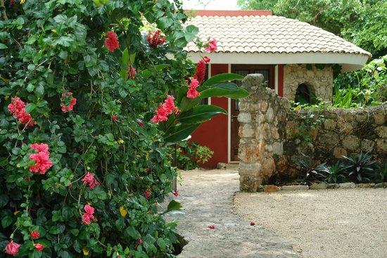 Hacienda Hotel Santo Domingo: Chambre de l'extérieur