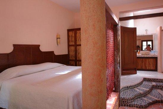 Hacienda Hotel Santo Domingo: Chambre