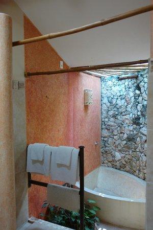 Hacienda Hotel Santo Domingo: Salle d'eau