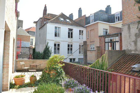 Hotel Acacia : Вид с балкона