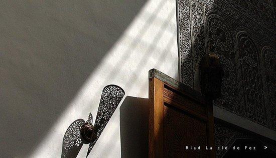 Riad La Cle de Fes: Quelques détails des espaces du Riad