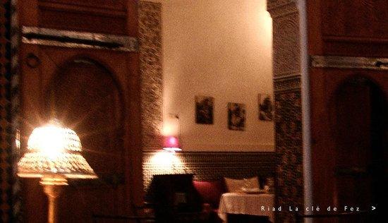 رياض مفتاح فاس: Quelques détails des espaces du Riad