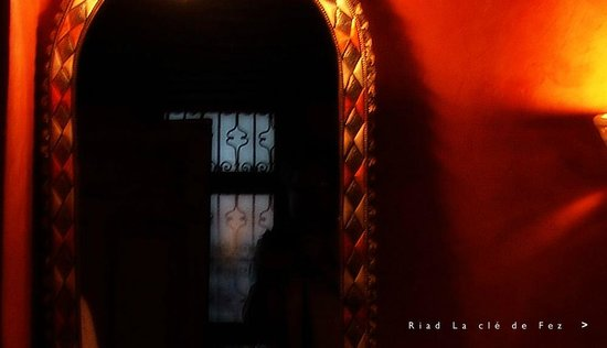 رياض مفتاح فاس: Fragment d'une salle de bain