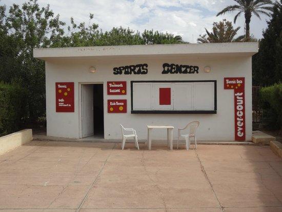 صحارى بيتش: Sports center de l'hôtel
