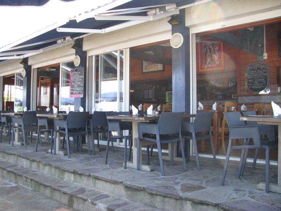 La Plancha D'Ilbarritz: La terrasse du restaurant
