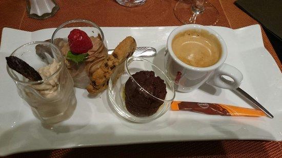 leu duo : Café gourmand
