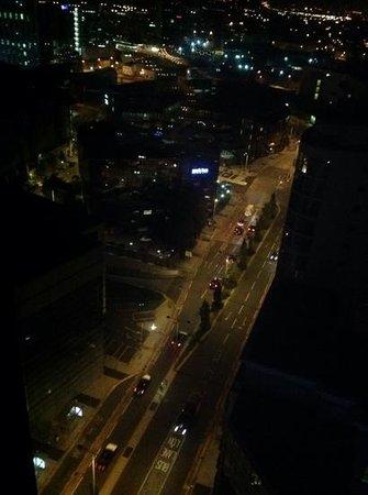 راديسون بلو هوتل كارديف: night view from room 2108