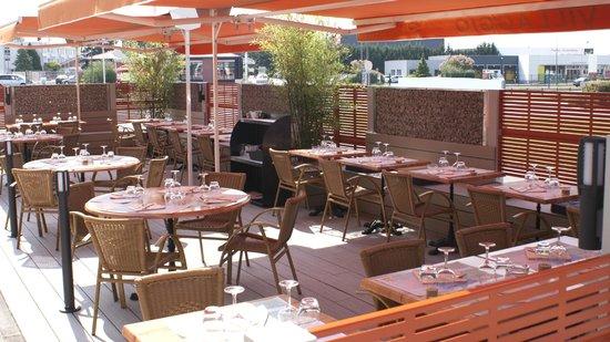 Restaurant Pizzeria Le Villaggio: nouvelle terrasse