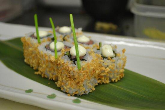 Yuzu Restaurant - West Hampstead: Yuzu weekly specials.Smoked salmon with wasabi cream cheese.