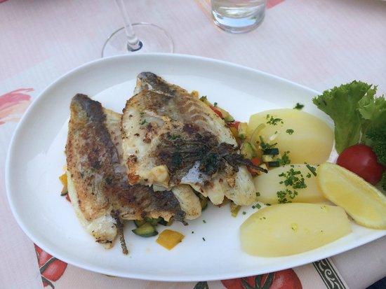 Hotel Latscherhof: Вкуснейшая рыбка