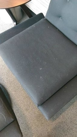 Aspire Lounge: Would you sit on this?