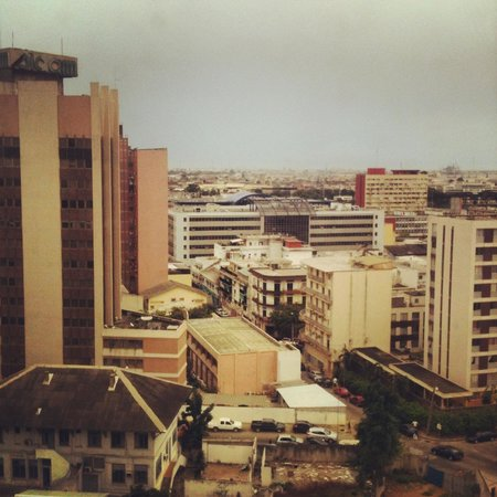 The Plateau: View from the meeting room of a client in Plateau