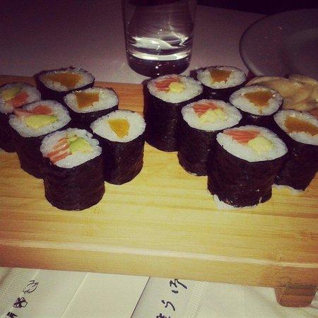 Furin Kazan: Maki sushi